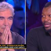 L'émotion de Raymond Domenech face aux excuses de Djibril Cissé sur Knysna