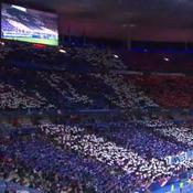 L'immense Tifo des supporters de l'équipe de France
