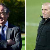 «La première personne que je verrai, c'est Zidane» : Le Graët ouvre grand la porte à l'entraîneur du Real