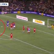 Le superbe coup franc de Zidane avec France 98
