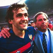 Michel Platini et la France du foot rendent hommage à Michel Hidalgo