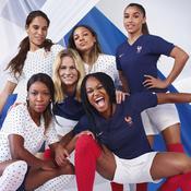 Mondial 2019 : du classique et du «girly» pour les nouveaux maillots des Bleues