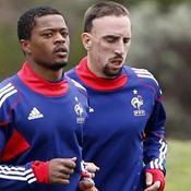 Franck Ribéry et Patrice Evra