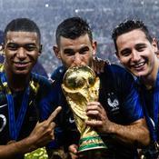 Championne du monde, la France prend la tête du classement FIFA