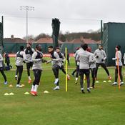 Entraînement du Liverpool FC à Melwood