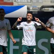 Bundesliga : Brême gagne et continue à croire au miracle