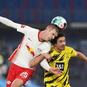 Leipzig se loupe contre Dortmund et laisse la première place au Bayern