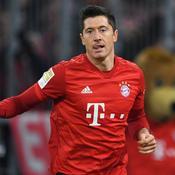 Robert Lewandowski face à Dortmund