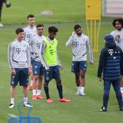 Entraînement du Bayern Munich