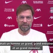 Klopp sur Houllier : «Grand homme et grand entraîneur, une légende» (vidéo)
