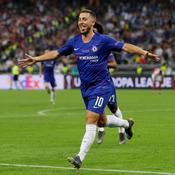 Eden Hazard a inscrit un but magnifique face à Arsenal