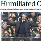 Mourinho, renommé «The Humiliated One» en Angleterre