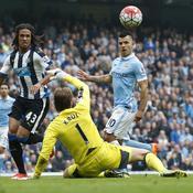 Newcastle - Manchester City : le quintuplé historique d'Agüero en 2015