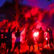 Nuit rouge à Liverpool