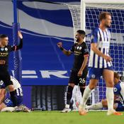 Manchester City en pleine démonstation à Brighton