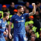 Grâce au phénix Olivier Giroud, Chelsea assomme Tottenham