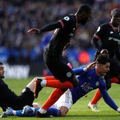 Chelsea arrache le nul à Leicester