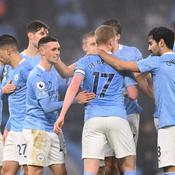 Manchester City, petit vainqueur de Brighton, retrouve le podium