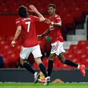 Dans la douleur, Manchester United conforte son statut de dauphin