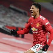Grâce à Rashford, Manchester United grimpe à la deuxième place