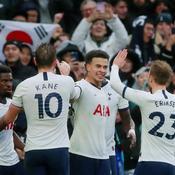 Tottenham lance le «Boxing Day» par un succès sur Brighton