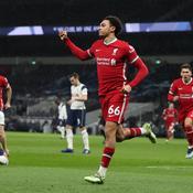 Liverpool se réveille à Tottenham et revient au pied du podium