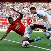 Manchester United chute face à Crystal Palace
