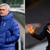 Tottenham-Manchester City: un choc entre Mourinho et Guardiola pour la suprématie