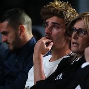 Antoine Griezmann ému aux larmes lors de l'annonce du départ de Diego Godin