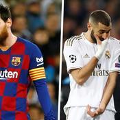 Lionel Messi, Karim Benzema et Zinedine Zidane