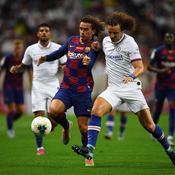 Antoine Griezmann face à David Luiz