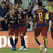 Sans briller, le Barça récupère sa place de leader