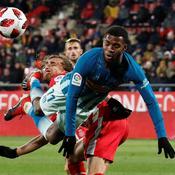 Coupe du Roi : l'Atlético bute sur Gérone en 8es de finale aller
