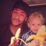 Le soutien de Neymar sur Instagram