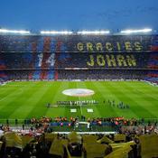 L'hommage exceptionnel du Camp Nou à Johan Cruyff
