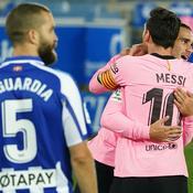 Joie Griezmann et Messi