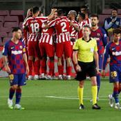 Tenu en échec par l'Atlético, le Barça perd gros dans la course au titre