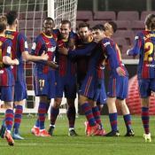 Grâce à des bijoux de Griezmann et Messi, le Barça se reprend après le PSG