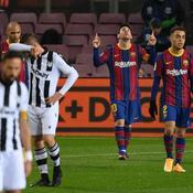 Messi sauve encore le Barça d'un mauvais pas