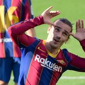 Avec un bijou de Griezmann, le Barça retrouve le sourire
