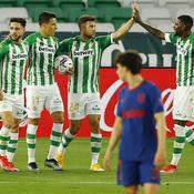 Tenu en échec au Betis, l'Atlético voit le Real revenir à un point