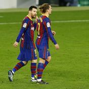 Fébrile mais reveillé par Messi, le Barça ne rassure toujours pas