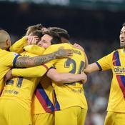 Le Barça s'en sort face au Betis Séville