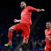 Porté par un grand Benzema, le Real Madrid retrouve le podium