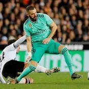 Grâce à Benzema le Real se sort d'un piège à Valence à trois jours du Clasico