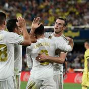Porté par Gareth Bale, le Real arrache le nul à Villarreal
