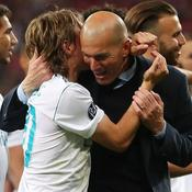 Luka Modric estime que Zinédine Zidane lui «a donné des ailes»