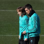Luka Modric et Cristiano Ronaldo, en 2017
