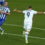 Madrid s'offre un peu de répit avec Zidane au téléphone et Benzema à la manoeuvre