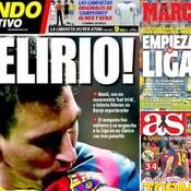 «Messi détruit Madrid»